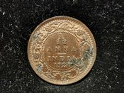 India, George V, 1/12th Anna 1920, VF, WB7614